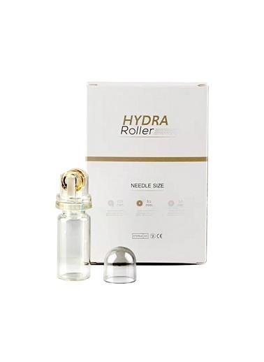 Hydra Roller 64 Altın İğneli Aplikatör Serum Ampul Uygulayıcı 1.00 mm Dermaroller Renksiz